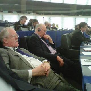U-KIP East Midlands MEP Roger Helmer and team hard at work in the European Parliament again…