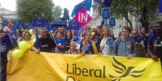 Lib Dems March For Europe