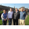 Bill Newton Dunn MEP campaigning with Michael Mullaney in Bosworth