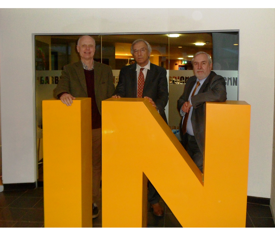George Smid, Bill Newton Dunn MEP and Phil Knowles at Liberal Democrat Conference in York