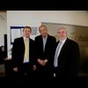 Michael Mullaney, Bill Newton Dunn and Phil Knowles at Hinckley